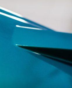 Tuning film iriscente azul-verde