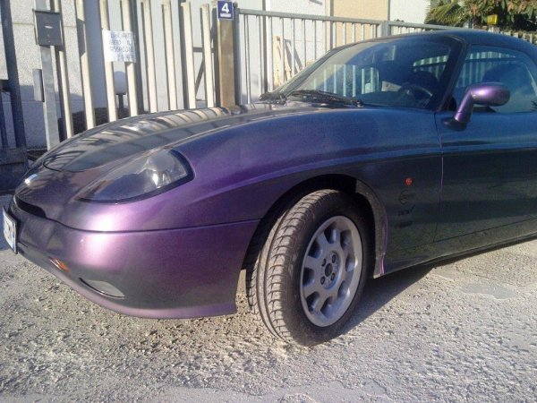 Tuning film iriscente fucsia-verde